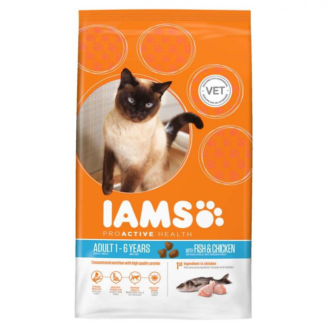 Iams Adult Ocean Fish & Chicken**