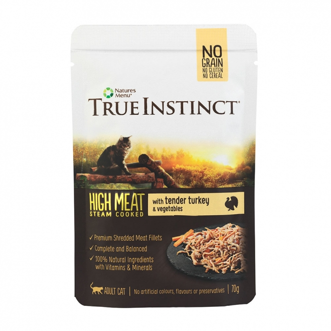 True Instinct HighMeat Cat Turkey 70 g