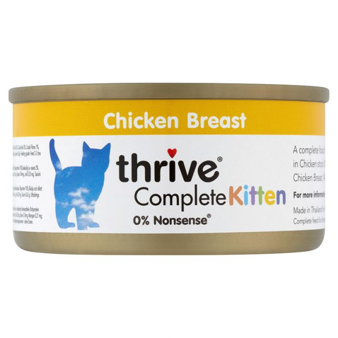 Thrive Kitten Kyckling (75 gram)**
