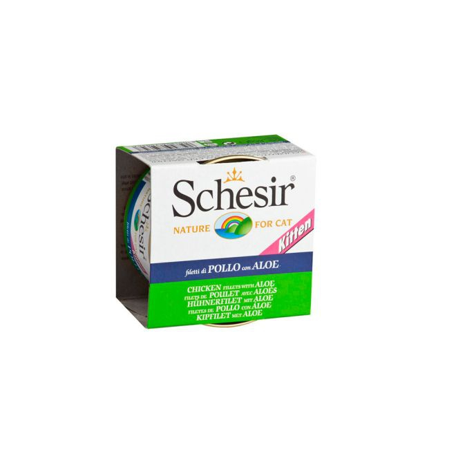 Schesir Kitten Chicken & Aloe 85 g (85 gram)