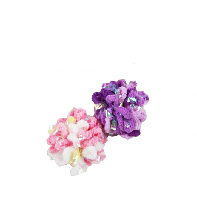 Pawise Glitter Caddice Bollar 2-pack