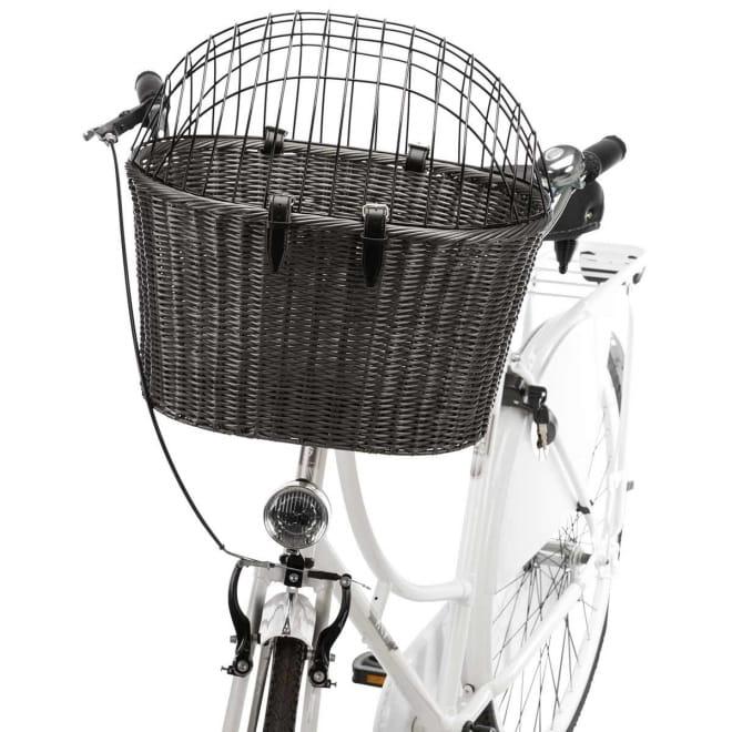 Trixie Cykelkorg Antracit  44×34×41 cm