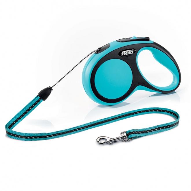 Flexi New Comfort S Cord 5m/12kg (Blå)**