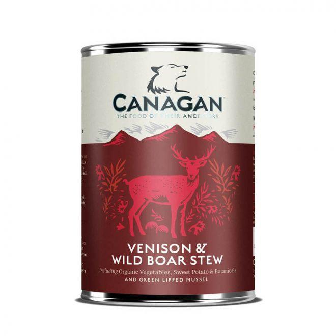 Canagan Venison & Wild Boar Stew (400 gram)**