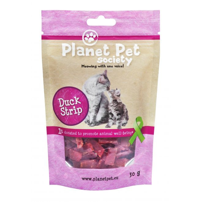 Planet Pet Society Cat Duck Strip 30 g