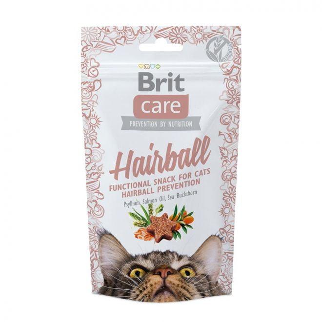 Brit Care Cat Snack Hairball (50 gram)
