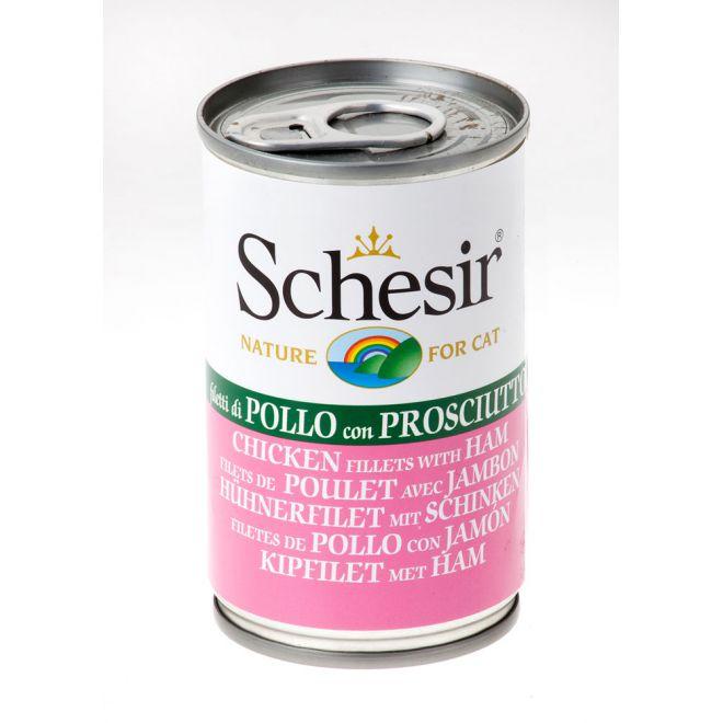 Schesir Kyckling & Skinka (140 gram)