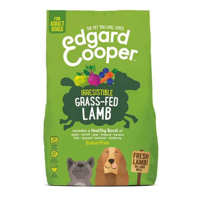 Edgard & Cooper Dog Grain Free Lamm