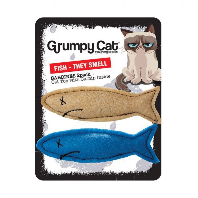 Grumpy Cat Grumpy Smelly Sardines 2-pack (Mångfärgad)