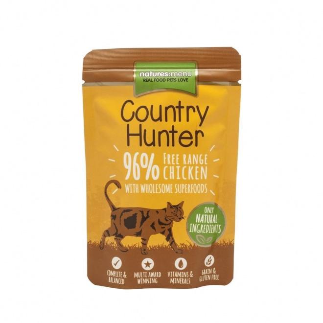 Natures:menu Country Hunter Cat Free Range Chicken 85 g