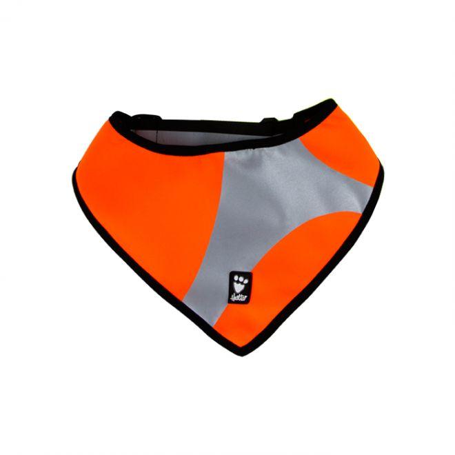 Hurtta Outdoors Dazzle Säkerhetscarf Orange