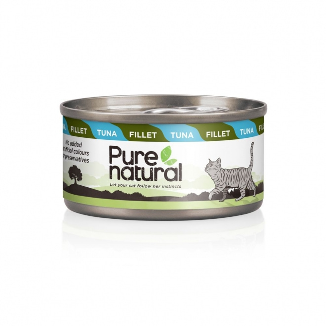 Purenatural Cat Fillet Tuna 70 g