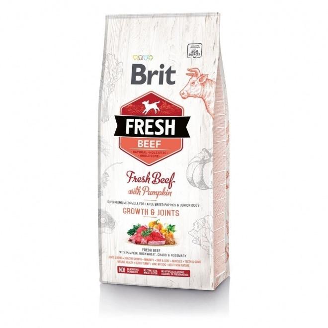 Brit Fresh Beef with Pumpkin Puppy Large (2,5 kg)