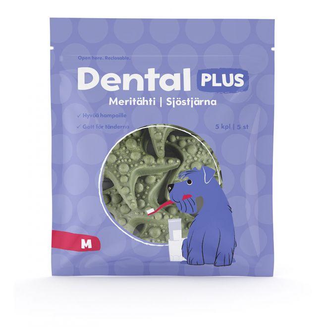 Dental Plus Sjöstjärna 5-pack (M)
