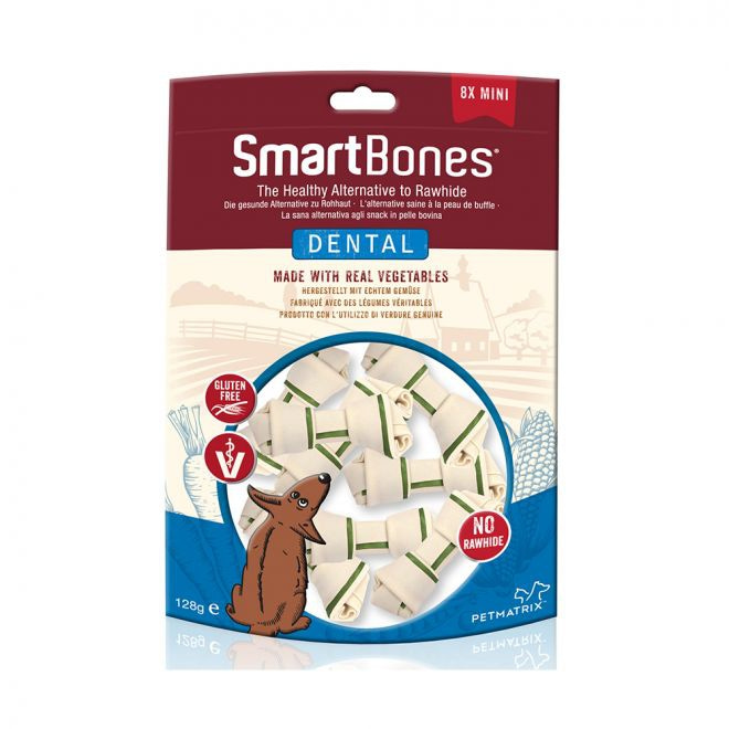 SmartBones Dental Mini 8 Pk**