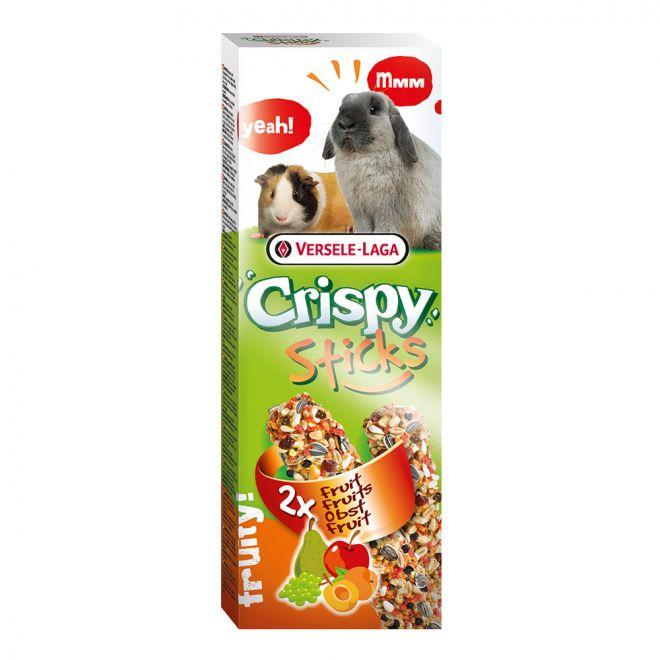 Versele-Laga Crispy Sticks Kanin-Marsvin Frukt (2x110 g)