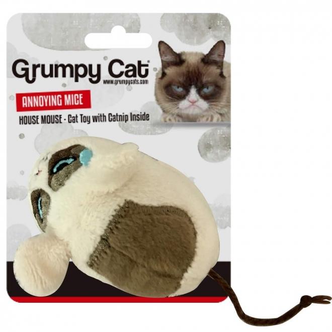 Grumpy Cat Mouse Leksak
