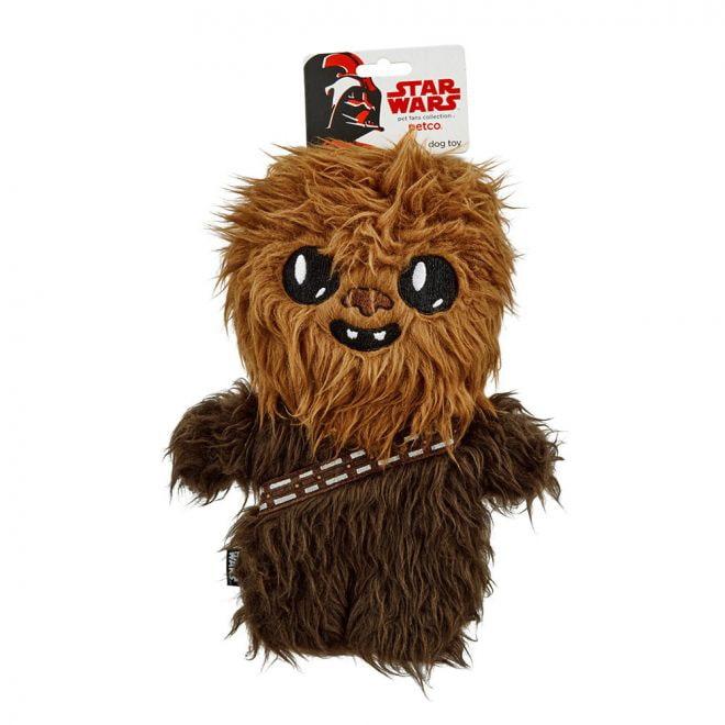PCO Star Wars Chewbacca Flattie Hundleksak (Tyg)**