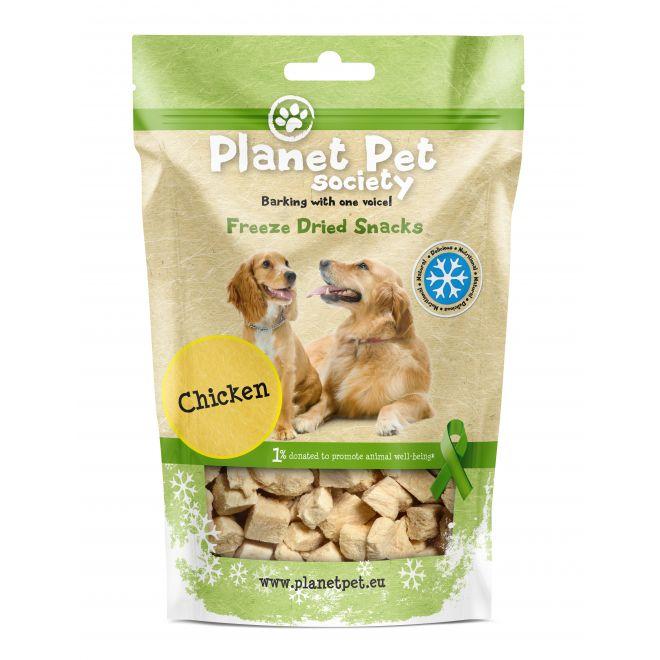 Planet Pet Society Frystorkad Kyckling (30 gram)**