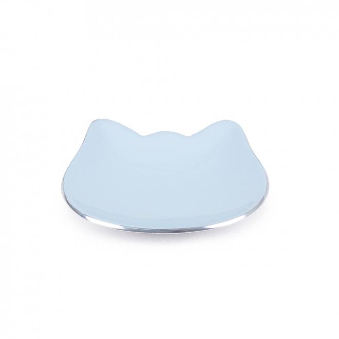 Basic Catface Skål (Ljusblå)