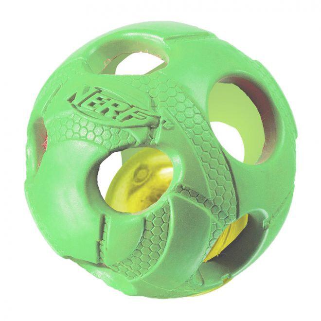 Nerf LED Bash Boll (Grön)
