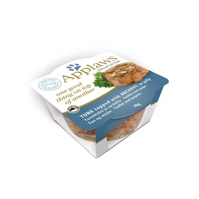 Applaws Cat Layer Tonfisk med Anjovis (70 gram)**