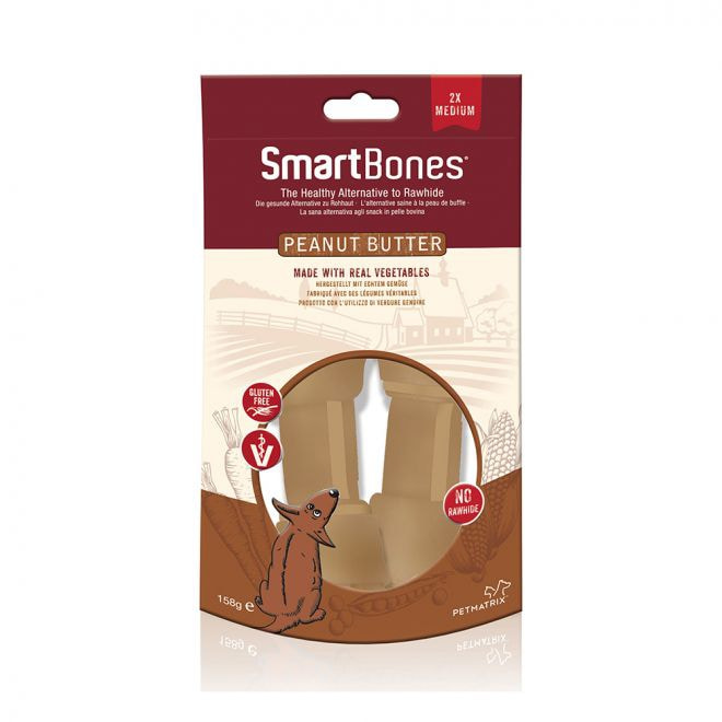 SmartBones Jordnötssmör Medium 2-pack