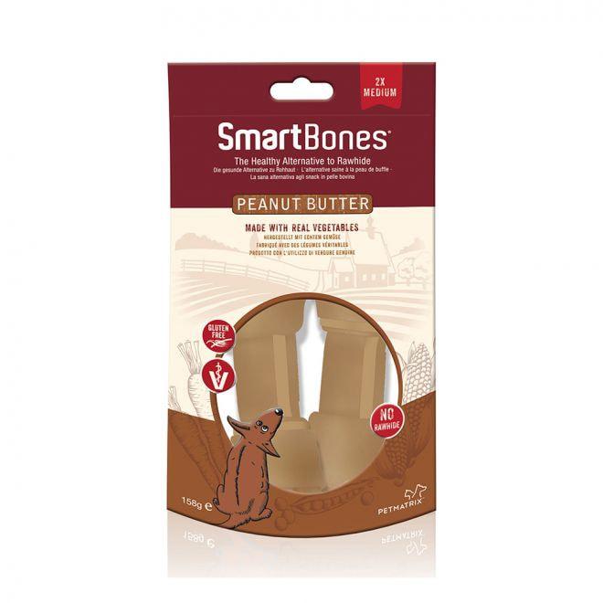 SmartBones Jordnötssmör Medium 2-pack**