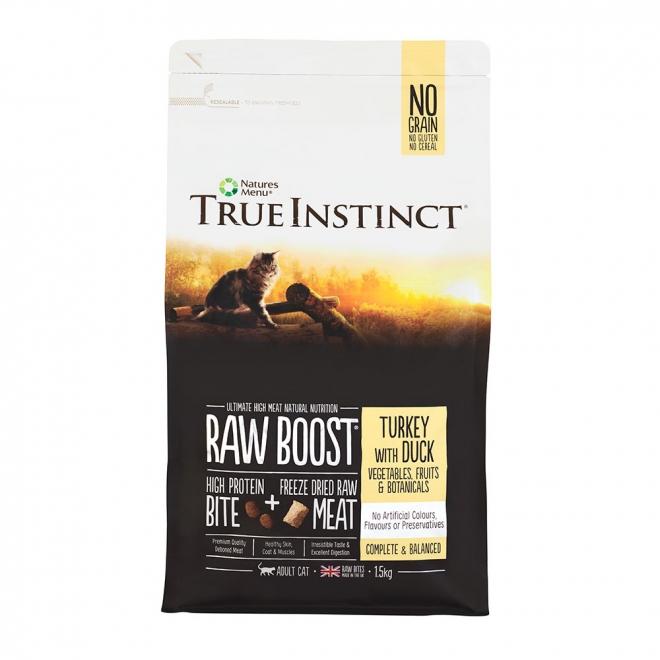 True Instinct RawBoost Cat Turkey & Duck 1,5 kg