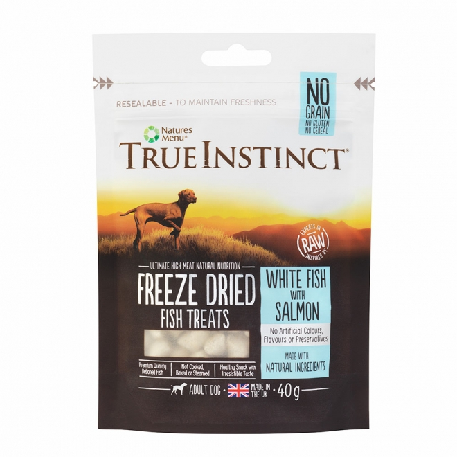 True Instinct Treat Dog Freeze Dried Fish 40 g