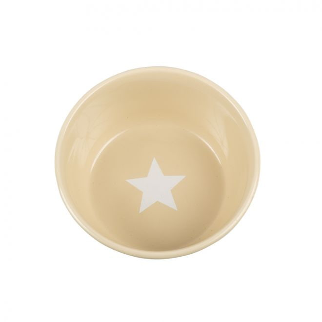 Basic Star skål beige**