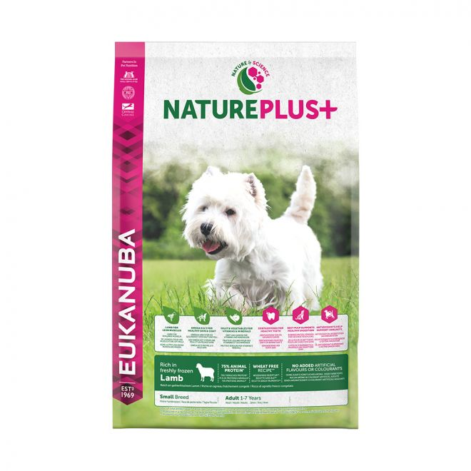 Eukanuba NaturePlus+ Adult Small Lamb