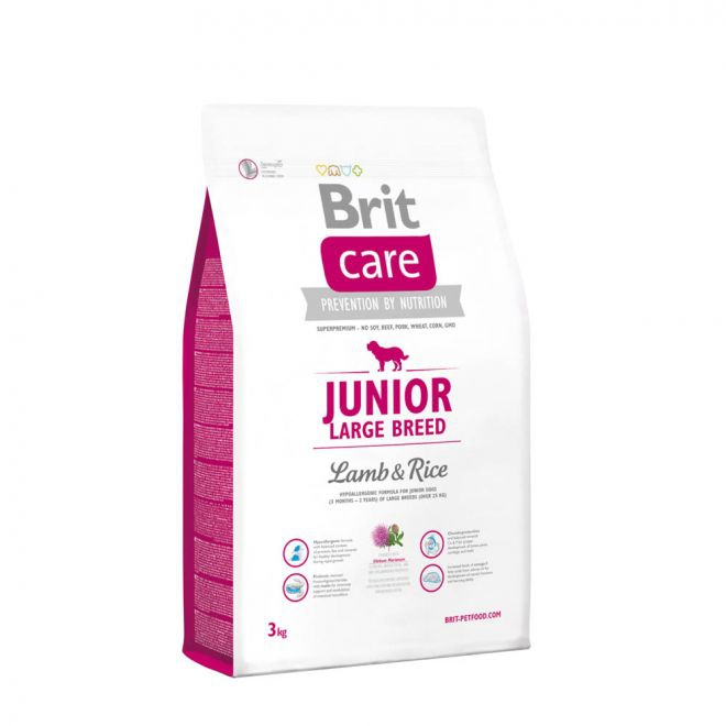 Brit Care Junior Large Breed Lamb & Rice (3 kg)