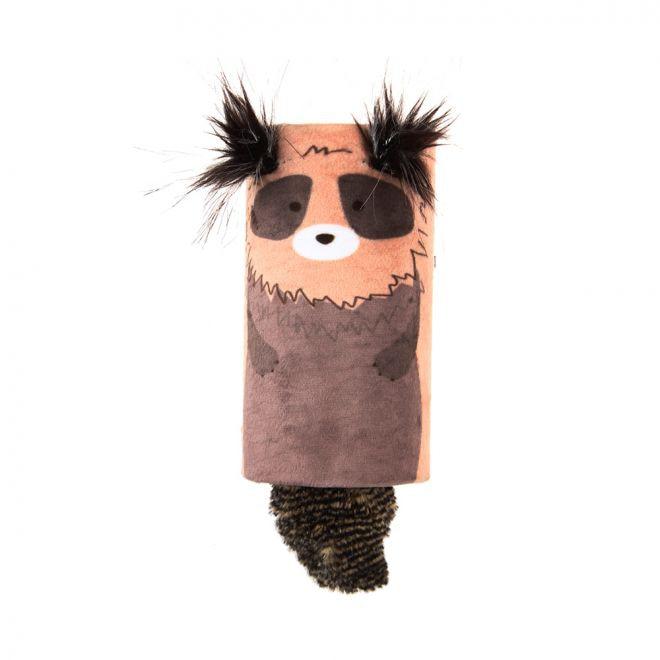 GiGwi Melody Tub Tvättbjörn (Mångfärgad)