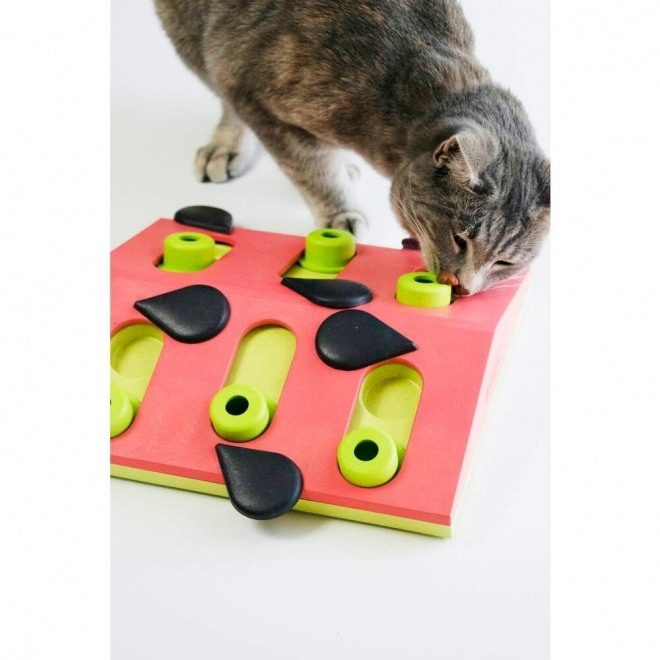 Nina Ottosson Cat Melon Madness Puzzle and Play Röd