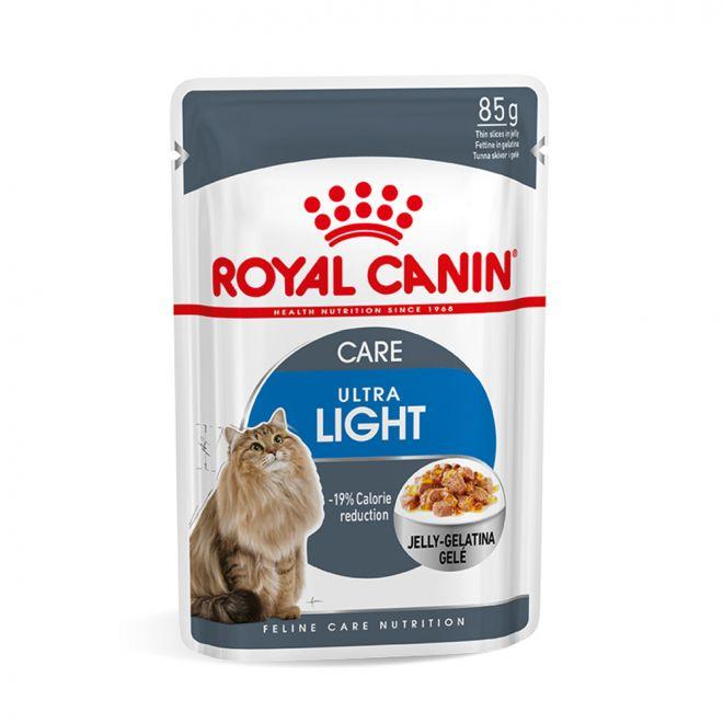 Royal Canin Ultra Light in Jelly 85 g (85 gram)
