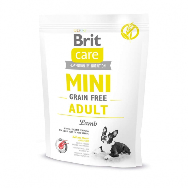 Brit Care Mini Grain Free Adult Lamb (400 g)
