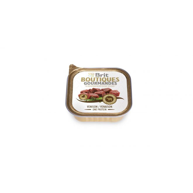 Brit Gourmet Venison Small Breed One Meat (150 gram)**