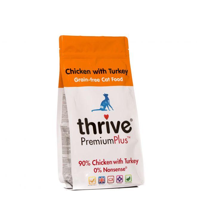 Thrive Premium Plus Kyckling & Kalkon (1.5 kg)**