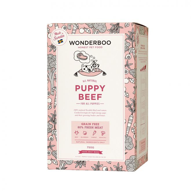 Wonderboo Puppy Beef Grain Free**