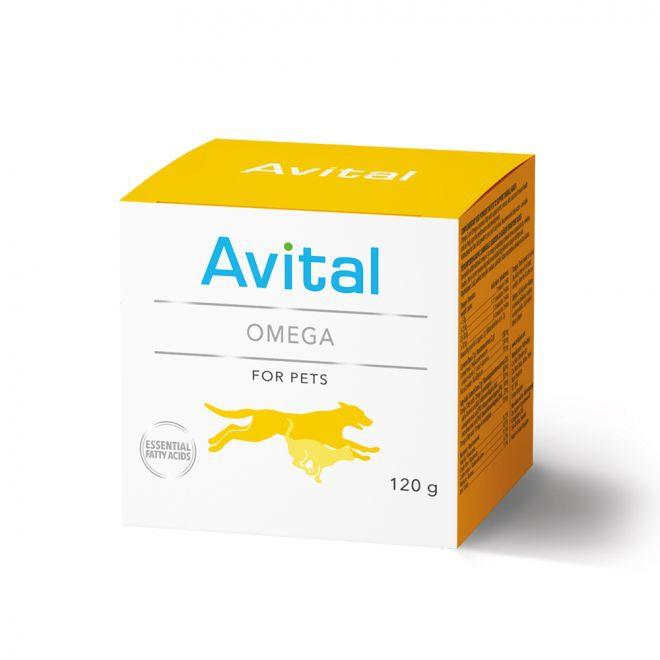 Avital Omega-pulver 120 g**