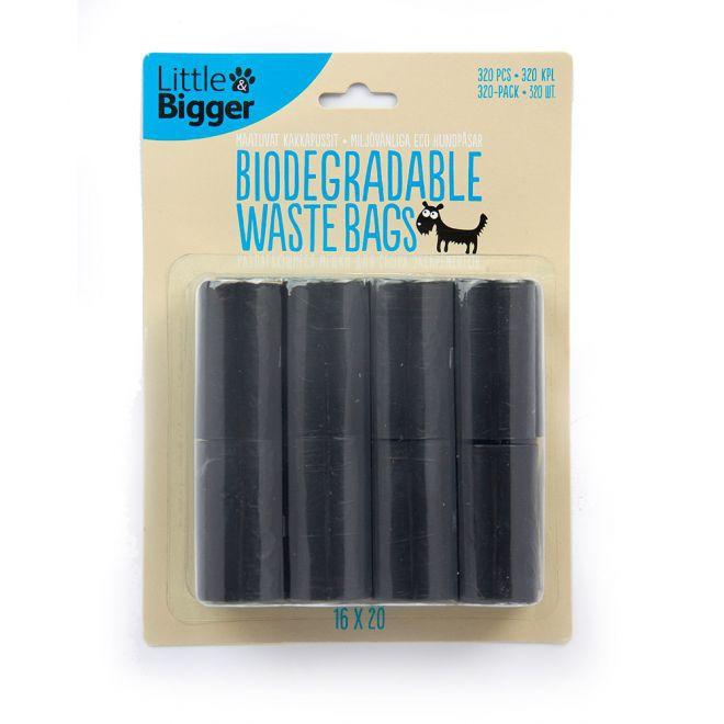 Little & Bigger Eco hundpåsar 16x20st