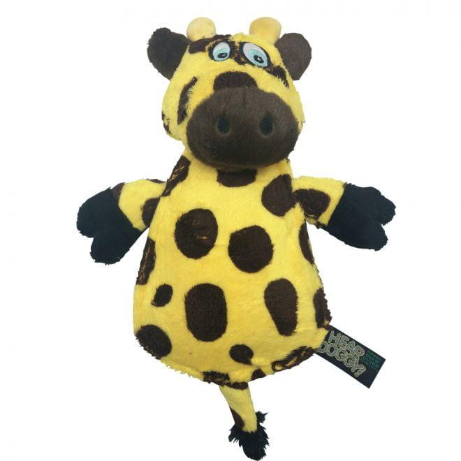 Hear Doggy Platt Giraff (Mångfärgad)**