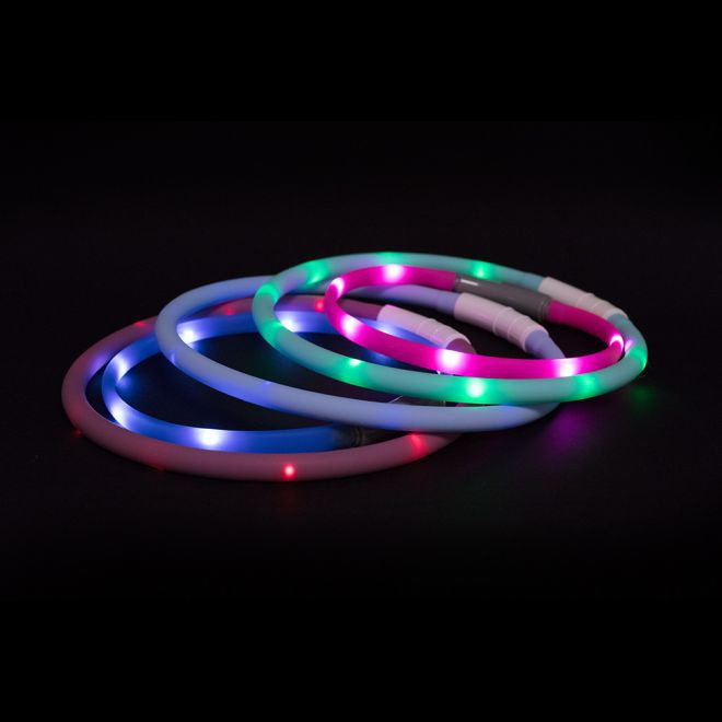 Little&Bigger Attention! Mini LED halsband**