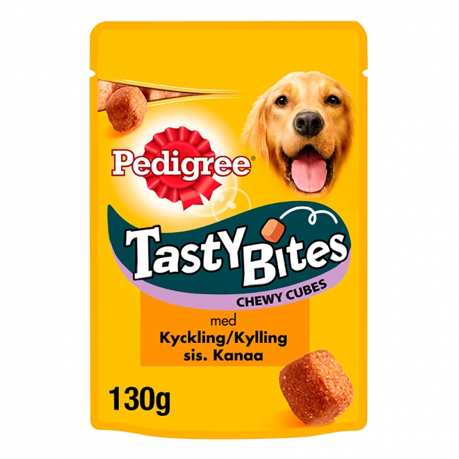 Pedigree Tasty Bites Chewy 130 g