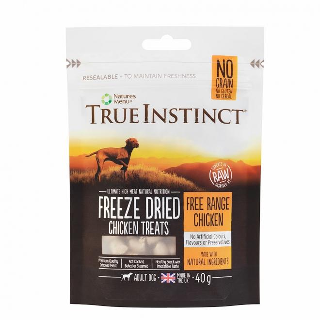 True Instinct Treat Dog Freeze Dried Chicken 40 g
