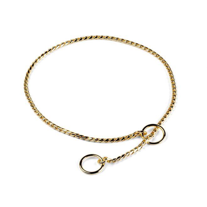Show Dog Snake Kedja Mässing/Guld 3,5 mm (60 cm)**