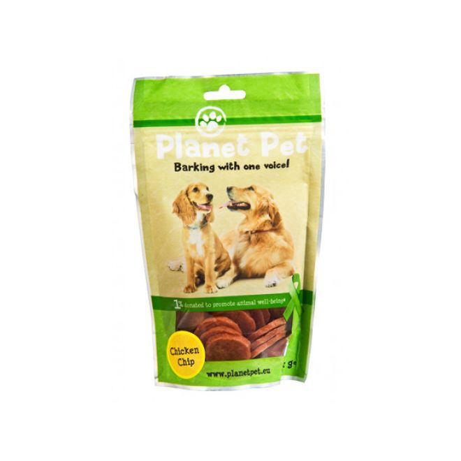 Planet Pet Dog Kyckling Chips 100 g