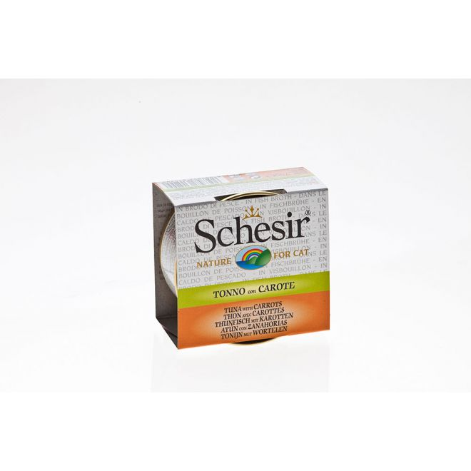 Schesir Tonfisk & Morot (70 gram)