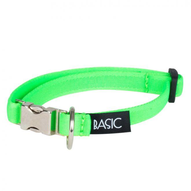 Basic Sweet Halsband Neongrön med metallås